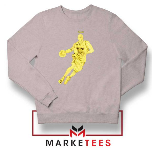 LA Lakers Star Kobe Bryant Grey Sweater