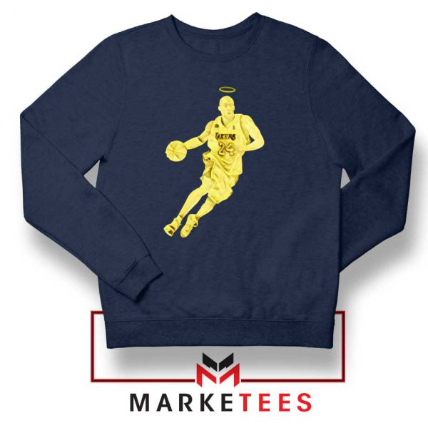 LA Lakers Star Kobe Bryant Navy Sweater
