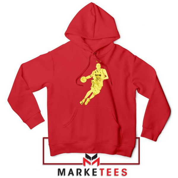 LA Lakers Star Kobe Bryant Red Hoodie