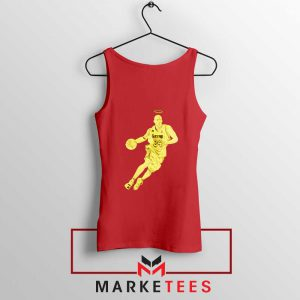 LA Lakers Star Kobe Bryant Red Tank Top