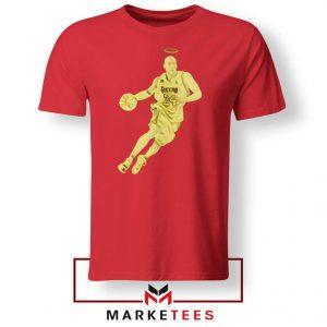 LA Lakers Star Kobe Bryant Red Tee