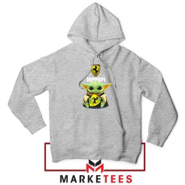 Logo Ferrari The Child Grey Hoodie