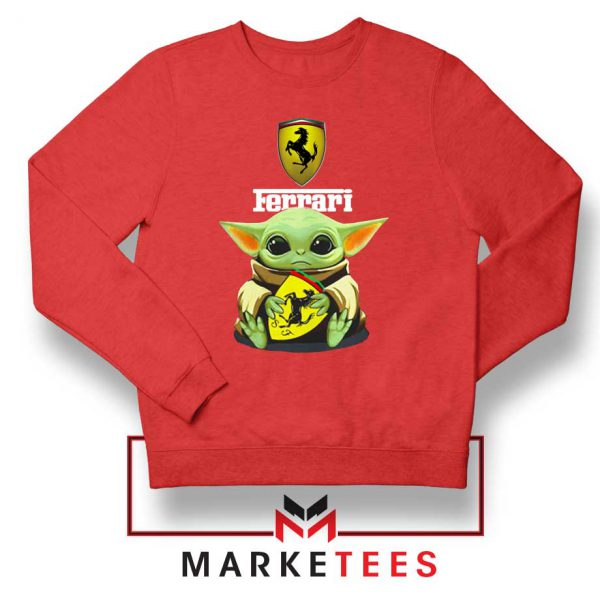 Logo Ferrari The Child Red Sweatshirt