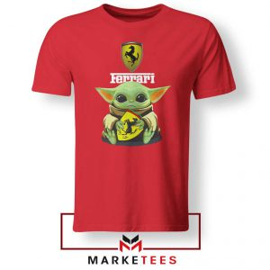 Logo Ferrari The Child Red Tshirt