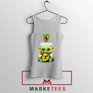 Logo Ferrari The Child Tank Top