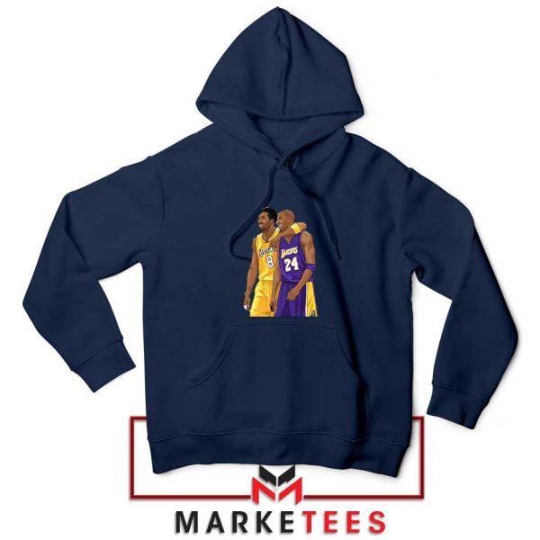 Los Angeles Lakers Pay Tribute Kobe Navy Hoodie