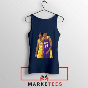 Los Angeles Lakers Pay Tribute Kobe Navy Tank Top