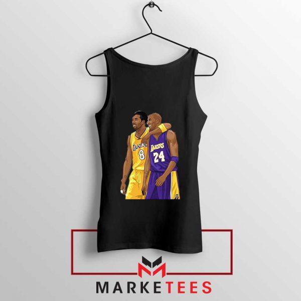 Los Angeles Lakers Pay Tribute Kobe Tank Top NBA Merch S-3XL