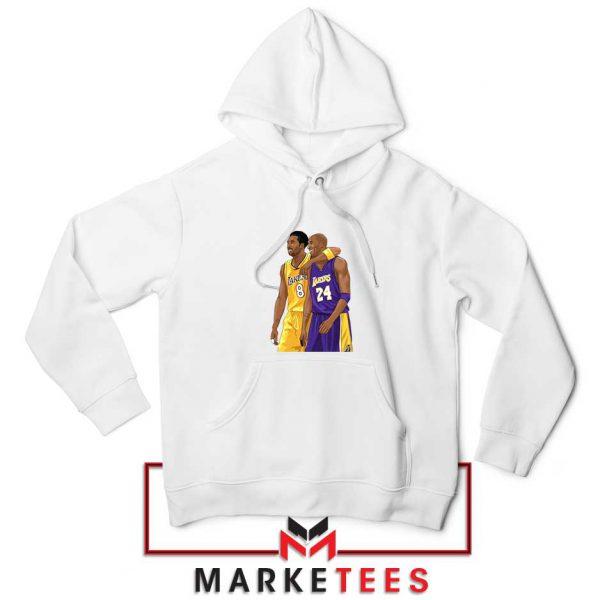Los Angeles Lakers Pay Tribute Kobe White Hoodie