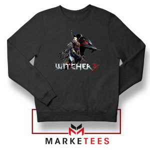 Mount Get The Witcher Black Sweatshirt