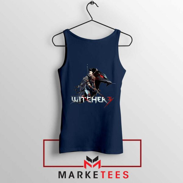 Mount Get The Witcher Navy Tank Top