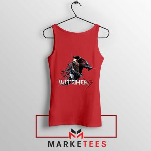 Mount Get The Witcher Red Tank Top
