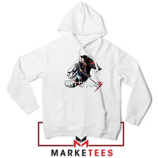 Mount Get The Witcher White Hoodie
