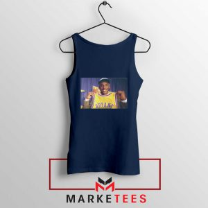 NBA Honor Lakers Legend Navy Tank Top