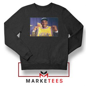NBA Teams Honor Lakers Legend Black Sweater