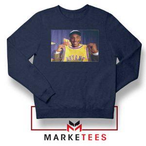 NBA Teams Honor Lakers Legend Navy Sweater