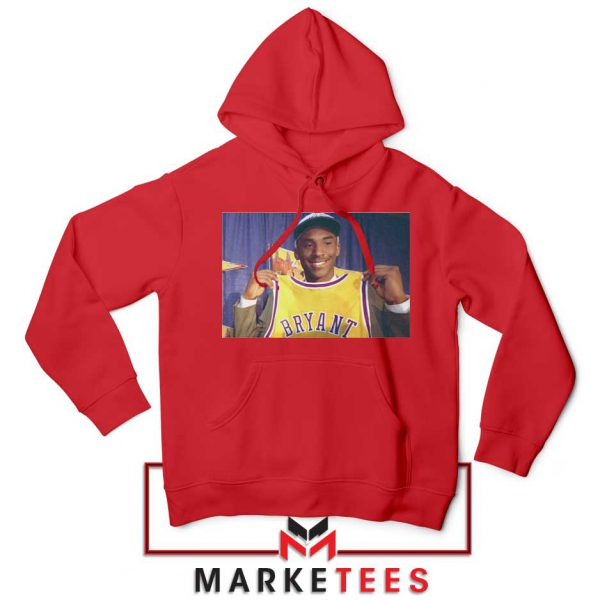 NBA Teams Honor Lakers Legend Red Hoodie