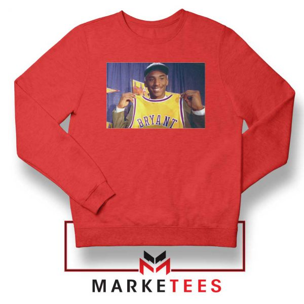 NBA Teams Honor Lakers Legend Red Sweater