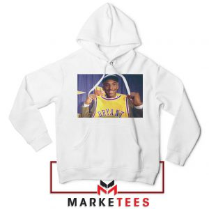 NBA Teams Honor Lakers Legend White Hoodie