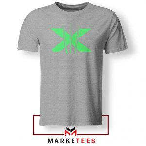 Neon X Men Claw Grey Tee Shirt