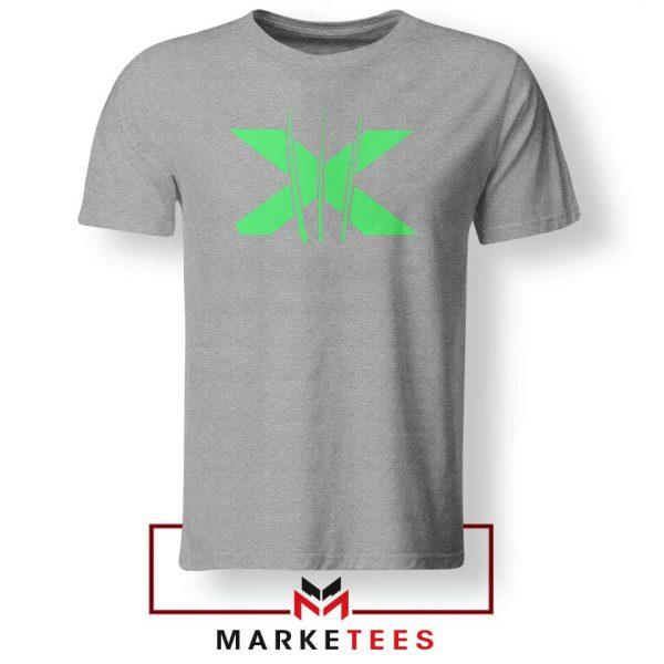 Neon X Men Claw Grey Tee Shirt