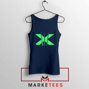 Neon X Men Claw Navy Tank Top