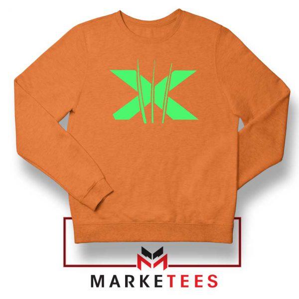 Neon X Men Claw Orange Sweathirt