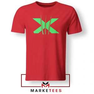 Neon X Men Claw Red Tee Shirt