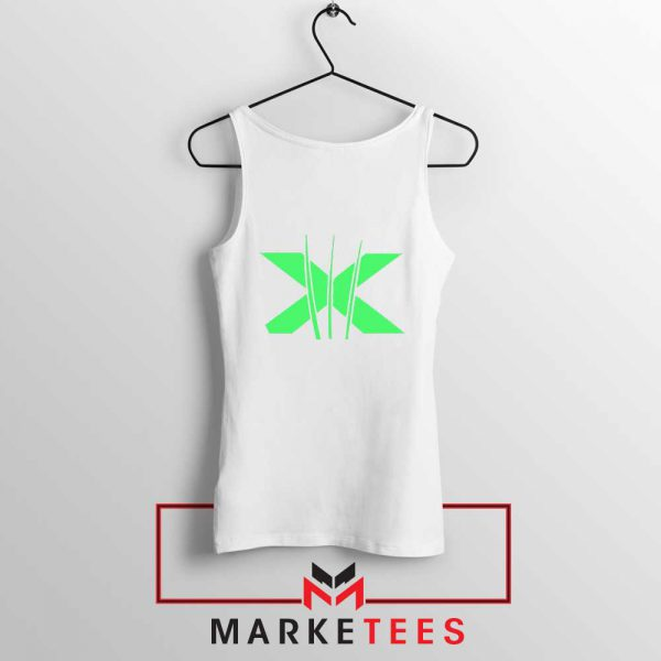 Neon X Men Claw White Tank Top