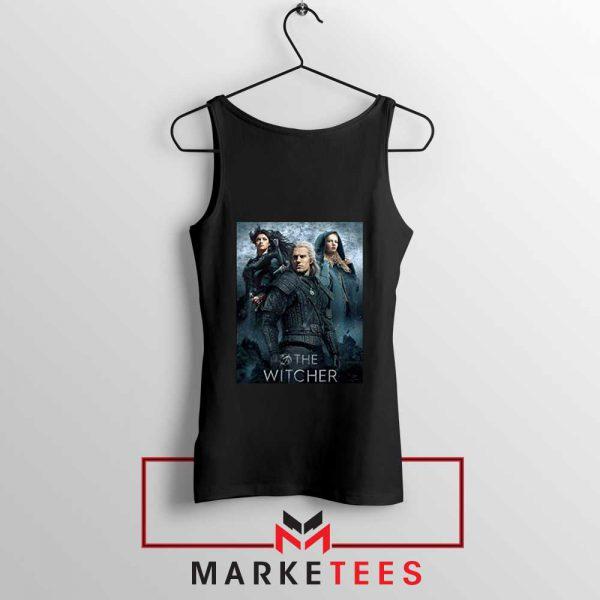 Netflix The Witcher Series Black Tank Top