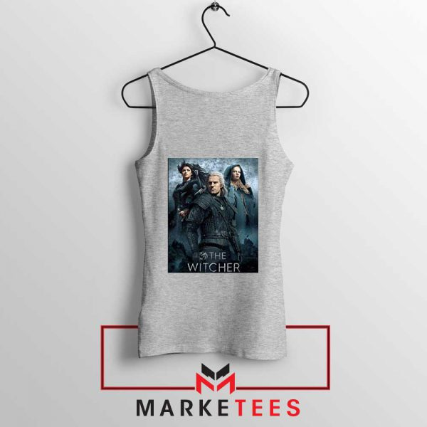 Netflix The Witcher Series Grey Tank Top