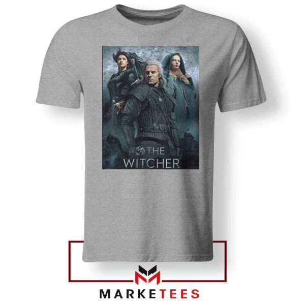 Netflix The Witcher Series Grey Tshirt