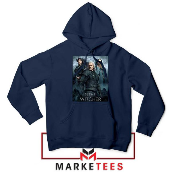 Netflix The Witcher Series Navy Hoodie