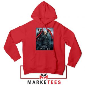 Netflix The Witcher Series Red Hoodie