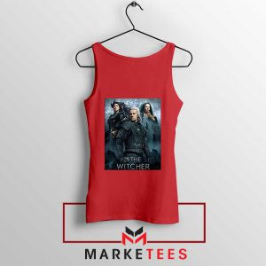 Netflix The Witcher Series Red Tank Top