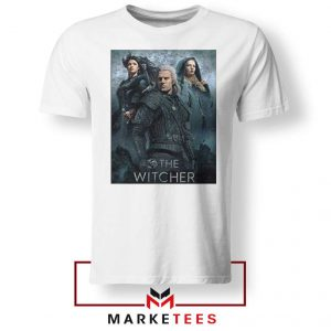 Netflix The Witcher Series White Tshirt