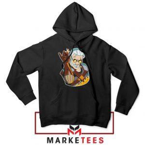 Parody Geralt Witcher Black Hoodie