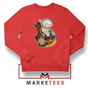 Parody Geralt Witcher Sweatshirt