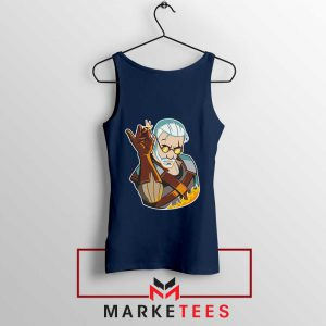 Parody Geralt Witcher Tank Top