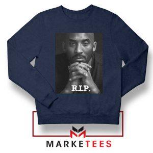 RIP Kobe Bryant LA Lakers Navy Sweatshirt
