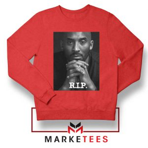 RIP Kobe Bryant LA Lakers Red Sweatshirt