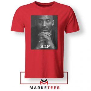 RIP Kobe Bryant LA Lakers Red Tshirt