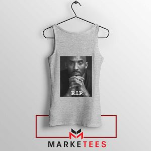 RIP Kobe Bryant LA Lakers Sport Grey Tank Top
