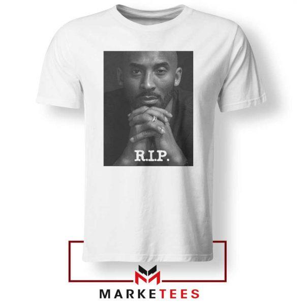 RIP Kobe Bryant LA Lakers White Tshirt