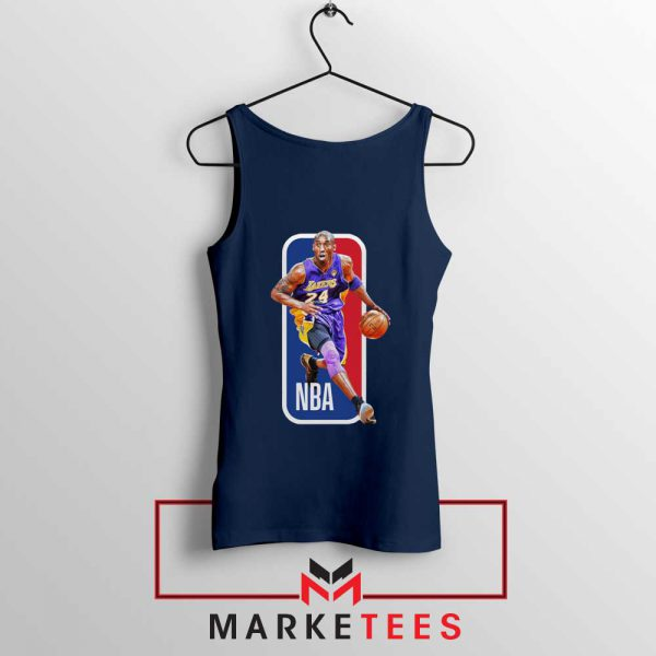RIP NBA Lakers 24 Kobe Bryant Navy Tank Top