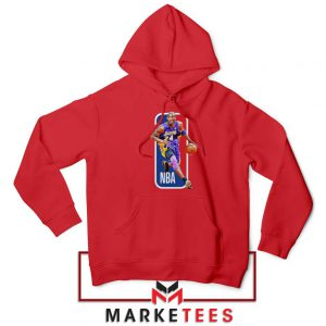 RIP NBA Lakers 24 Kobe Bryant Red Hoodie
