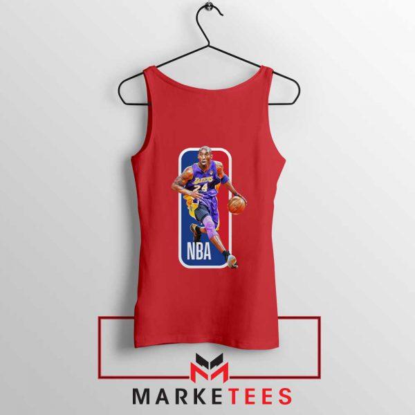 RIP NBA Lakers 24 Kobe Bryant Red Tank Top