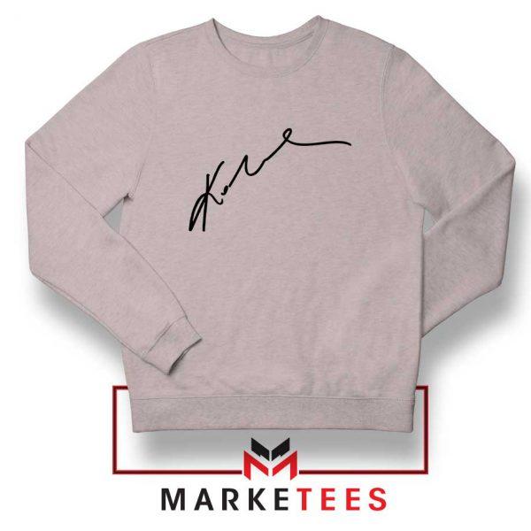 Signature Kobe Bryants Grey Sweatshirt