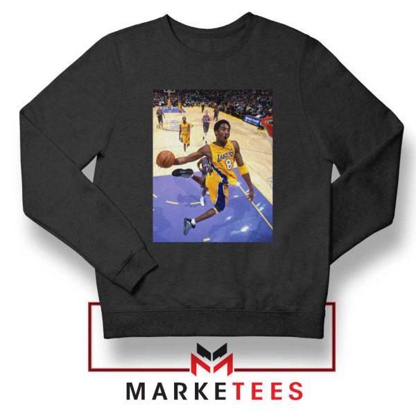Slam Dunk Kobe Bryant Black Sweatshirt