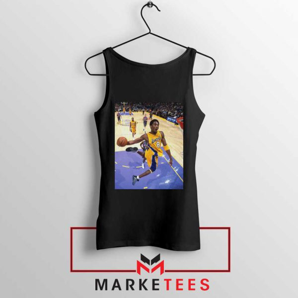 Slam Dunk Kobe Bryant Black Tank Top